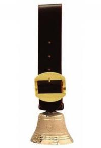 Nr. 11 - Echte Schafs-/Ziegen-Glocke Bronze mit 103er-Gebr..