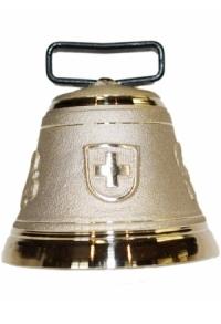 Nr. 7 - Echte Glocke Bronze zum Gebrauch (mit Riemen)