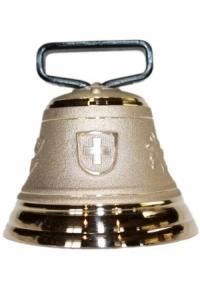 Nr. 8 - Echte Glocke Bronze zum Gebrauch (mit Riemen)