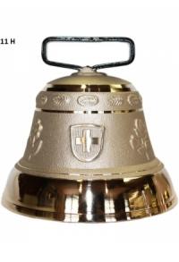 Nr. 11 - Echte Glocke Bronze zum Gebrauch (mit Riemen)