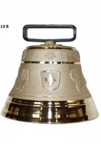 Nr. 13 - Echte Glocke Bronze zum Gebrauch (mit Riemen)