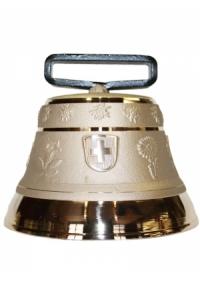 Nr. 14 - Echte Glocke Bronze zum Gebrauch (mit Riemen)