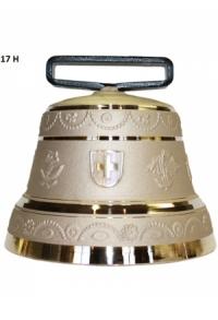 Nr. 17 - Echte Glocke Bronze zum Gebrauch (mit Riemen)