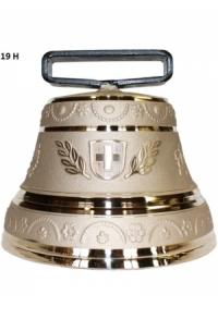 Nr. 19 - Echte Glocke Bronze zum Gebrauch (mit Riemen)