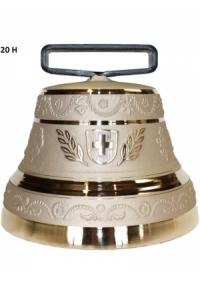 Nr. 20 - Echte Glocke Bronze zum Gebrauch (mit Riemen)