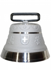 Nr. 14 - Echte Glocke Aluminium zum Gebrauch (mit Riemen)