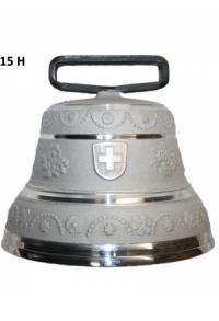 Nr. 15 - Echte Glocke Aluminium zum Gebrauch (mit Riemen)