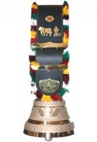 Glocken mit Appenzeller Riemen, Nr. 30 H