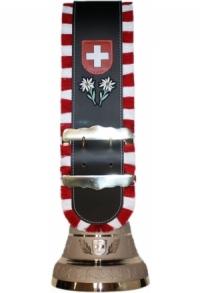 Glocken Schweiz mit Fransen-Riemen, Nr. 32 B