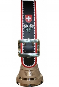 Glocken Schweiz mit Rundzack-Riemen, Nr. 22 H