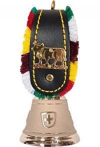 Echte Glocke Bronze, Appenzeller Riemen, ohne Schnalle, Nr..