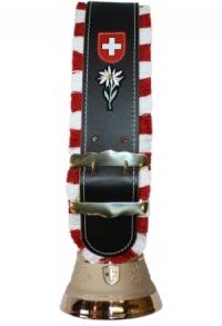 Glocken Schweiz mit Fransen-Riemen (Midi), Nr. 14 H