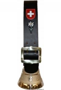 Glocken Schweiz mit Riemen schlicht (Midi), Nr. 15 H