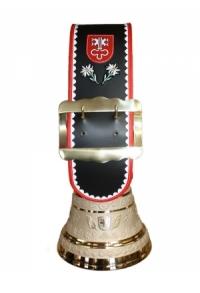 Glocke Kanton Nidwalden mit Rundzack-Riemen, Nr. 30 H