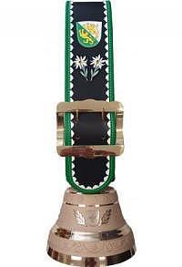 Glocke Kanton Luzern mit Rundzack-Riemen, Nr. 24 H