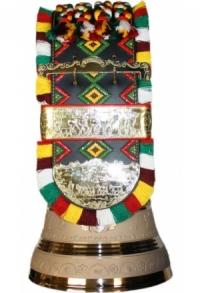 Appenzeller Glocke mit Zottel PREMIUM, 32 cm / 60 cm